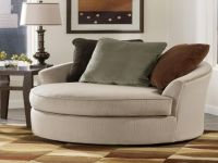 Round Spinning Sofa Chair Sofa Impressive Round Swivel