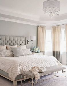 beautiful bedroom color schemes also tan bedrooms and gray rh pinterest