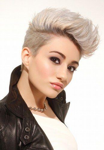 Kurzhaarfrisuren Das Liegt Im Trend Für Kurzes Haar Hair Style