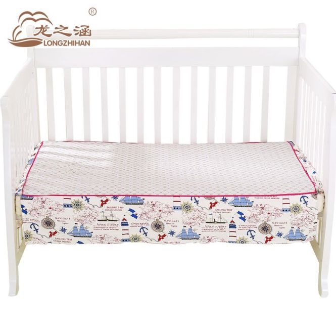 Baby Bed Skirt Fashion Sheet 100 Cotton Newborn Ed Cot Crib Sheets