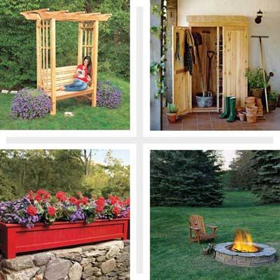 19 Beautiful Backyard Building Projects Gardens Beautiful And