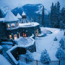 Hot Tub Winter Snow