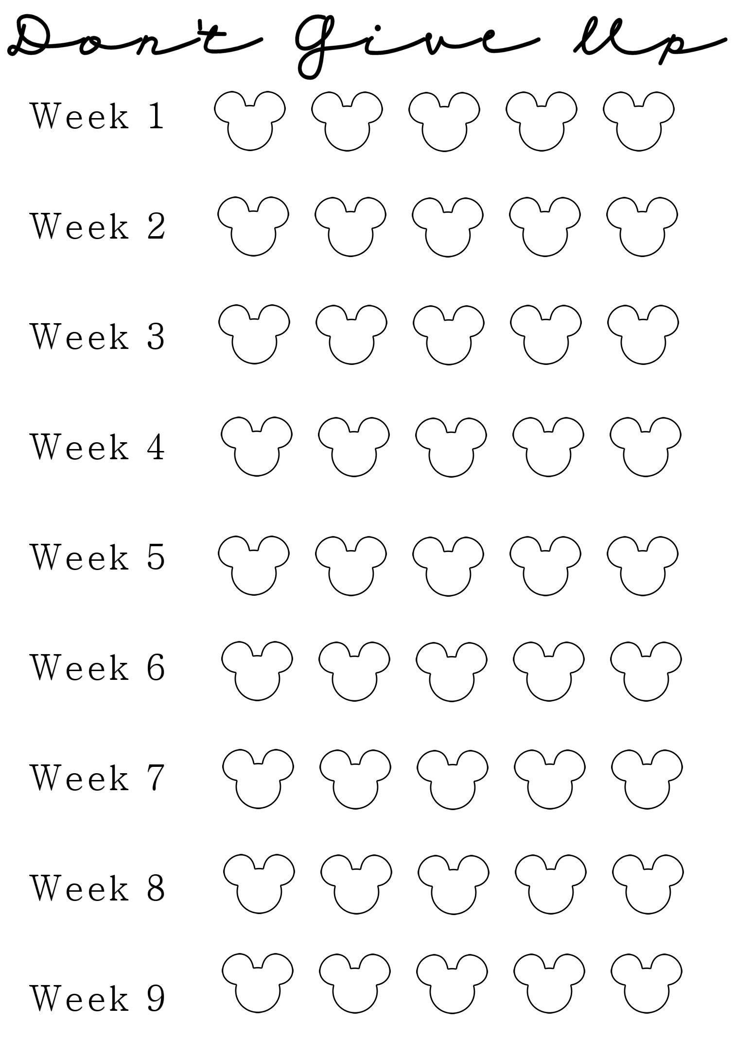photo relating to Printable Countdown Chart known as ⋆ bodyweight decline countdown chart 50+ Most straightforward templates ⋆ Fresh new