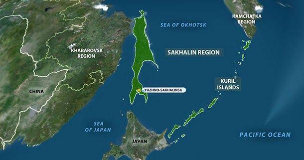 Αποτέλεσμα εικόνας για ρωσια νησιά Ρούσκι
