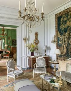 also le style madeleine castaing classic interior art walls and interiors rh pinterest