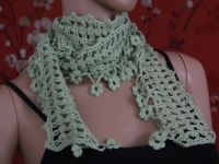 Crochet Scarf Tutorial Part 1 of 4 (Pattern #4) | Crochet ...