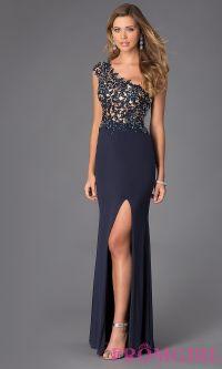 Alyce Paris One Shoulder Prom Dress AL-35712 | Prom ...