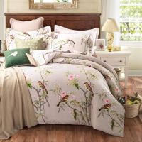 Pastoral Style 100% Cotton Bedding Sets Queen/King Size