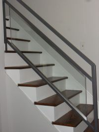 Updating Stairs and Railings in a Split Level Home | Stair ...