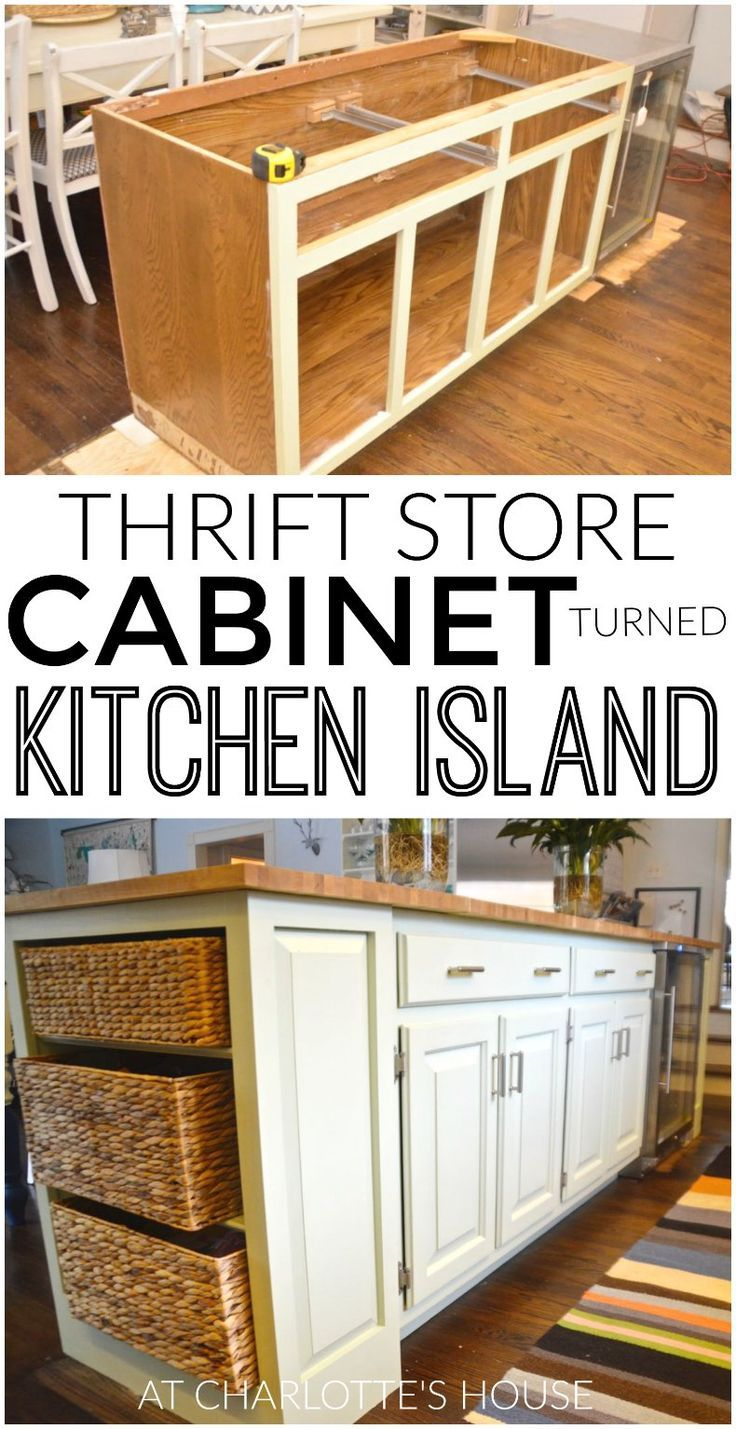 inexpensive kitchen island unfinished base cabinets new and improved   kitchens, house diy ...
