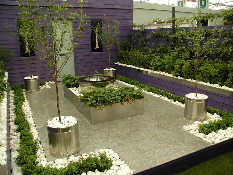 Gardens Contemporary Front Garden Design Ideas Garden Ideas