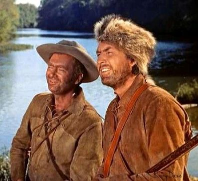 Image result for fess parker and buddy ebsen