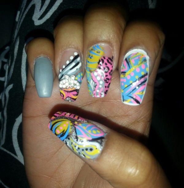 Crazy Nail Art Designs