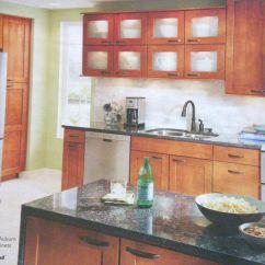 Shenandoah Kitchen Cabinets Suspended Shelves Lowe 39s Mission Maple In Auburn Glaze Kichen