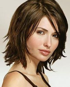 Haircuts On Pinterest Round Faces Medium Hairstyles And Medium