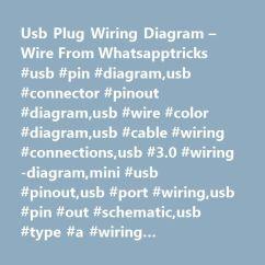 Mini Usb Plug Wiring Diagram Of Manganese Wire From Whatsapptricks Pin