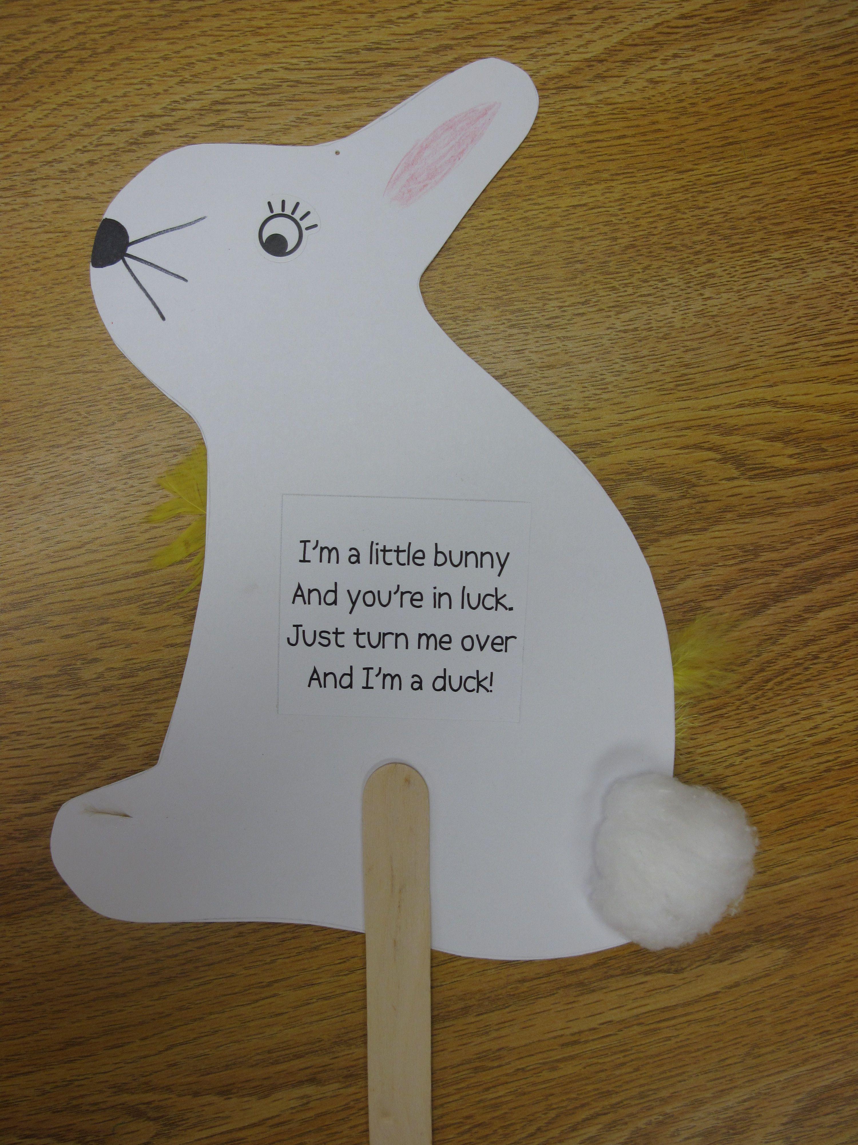 I M A Little Bunny Turn Me Over And I M A Duck Great To