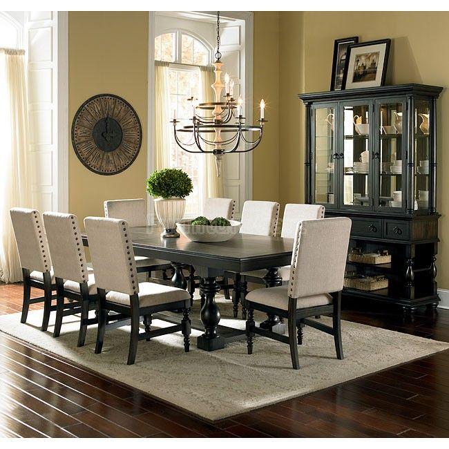 Leona Dining Room Set Steve Silver Furniture  Furniture