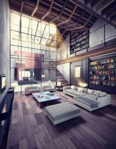 Open loft with beautiful natural light ideas home house apartment also rh in pinterest