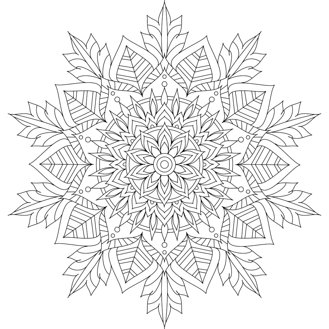 This Is Winter Soul One Of Over 100 Printable Mandalas
