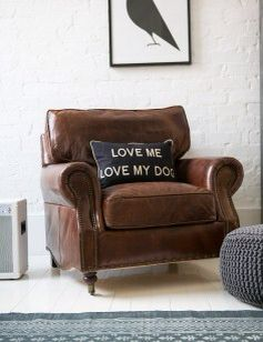 distressed leather armchair uk diy dining room chairs plans from roseandgrey co ideas for the house