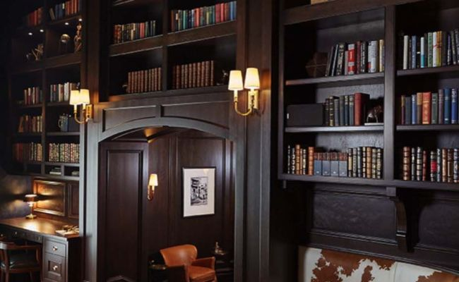 Home Ideas 28 Dreamy Home Offices With Libraries For