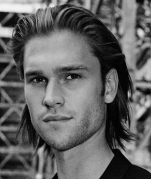 Long Hairstyles For Men Slicked Back ErC7oMG3W Him Pinterest