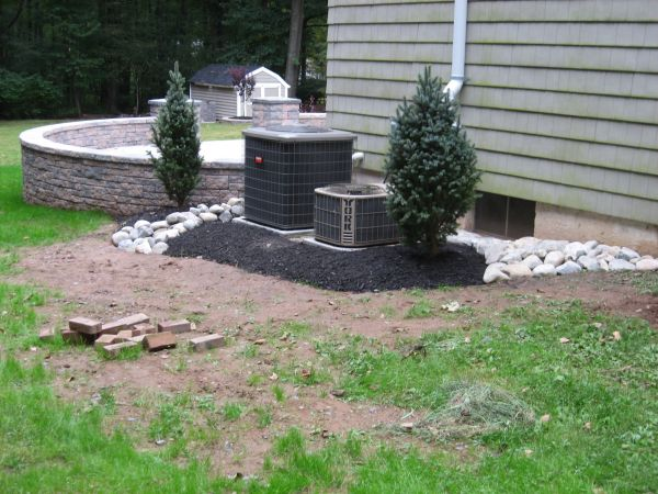 landscaping patio & air
