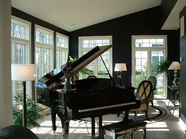 Sunroom Dining Room Ideas Black Painted Rooms? Home Decorating