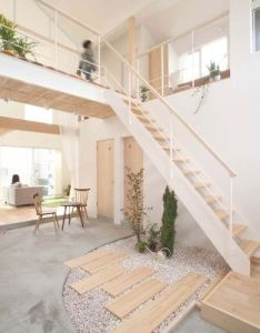 Kofunaki house by alts design office also interiors and architecture rh pinterest