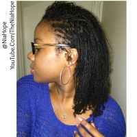 Mini Braids on Natural Hair. @NiaHope (YouTube.Com