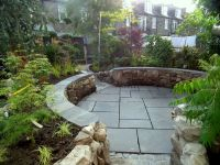 sunken outdoor seating area - Google Search | Outdoor ...