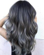 charcoal hair -key