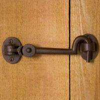 Simple Barn Door Lock | Letter Photo Art | Pinterest ...