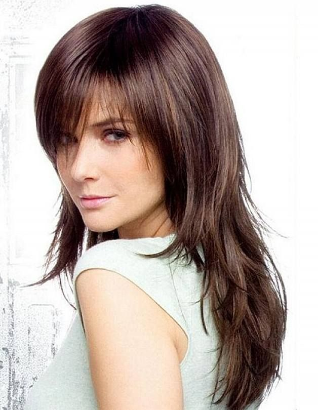 Cute Easy Long Layered Hairstyles For Fine Thin Hair With Bangs