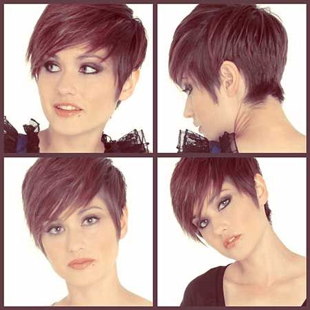Short In The Back Longer In The Front Pixie Cut 450×450 Pixels