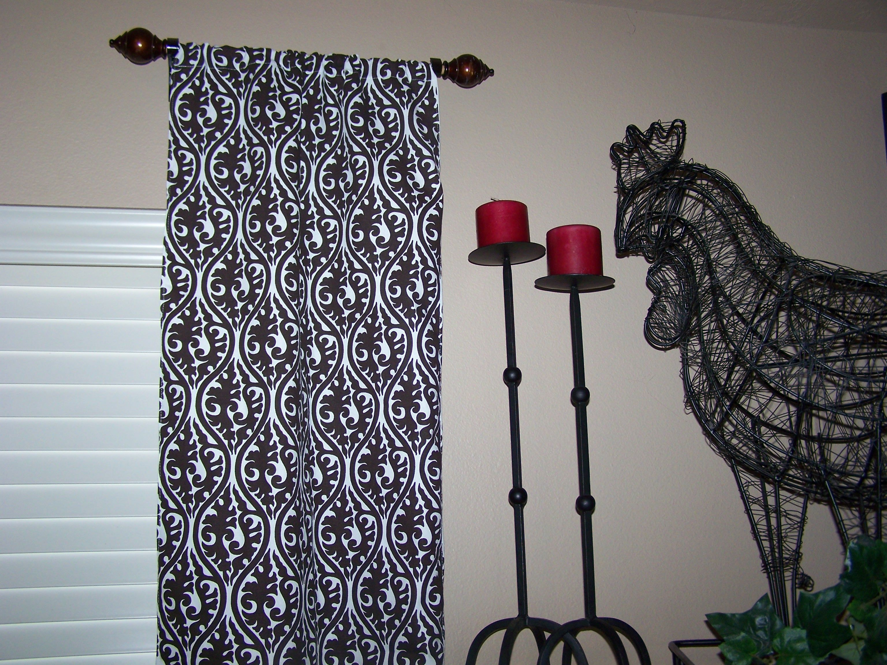 Superior Use A Towel Bar As A Short Curtain Rod Short Curtain Rods Would