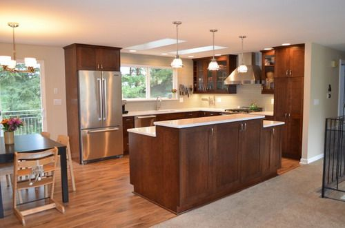 Split Level Kitchen Remodeling Projects Including Deciding On
