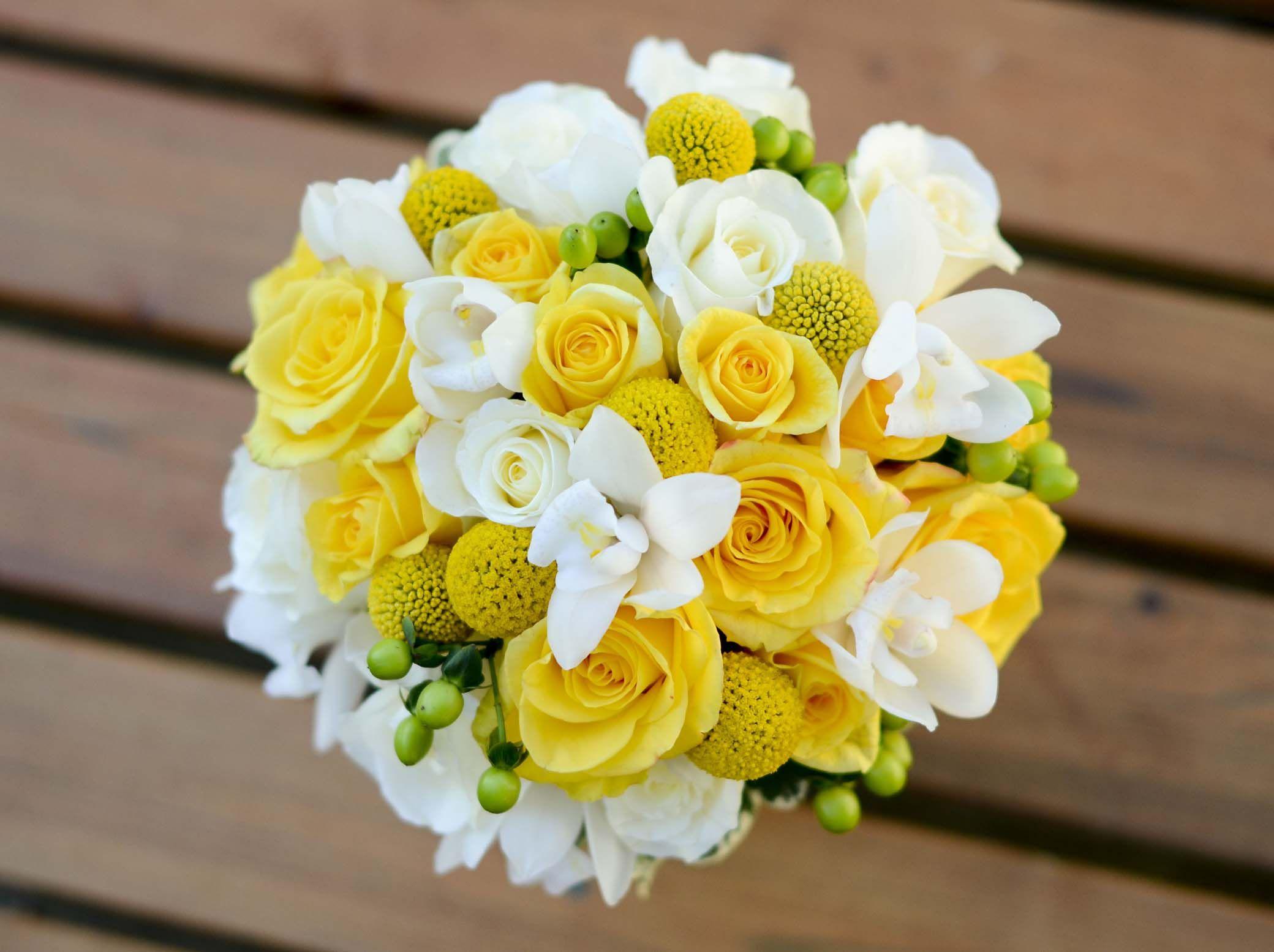 Yellow Weddings, Flowers And Weddings