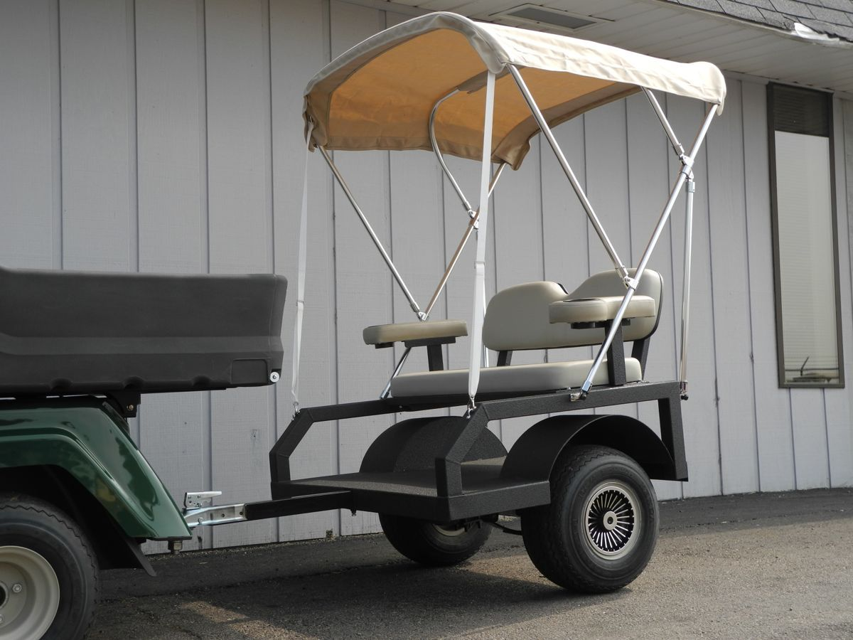portable chairs for golf tournaments aluminum patio canada the ultimate is passenger carrying flexibility we 39ve