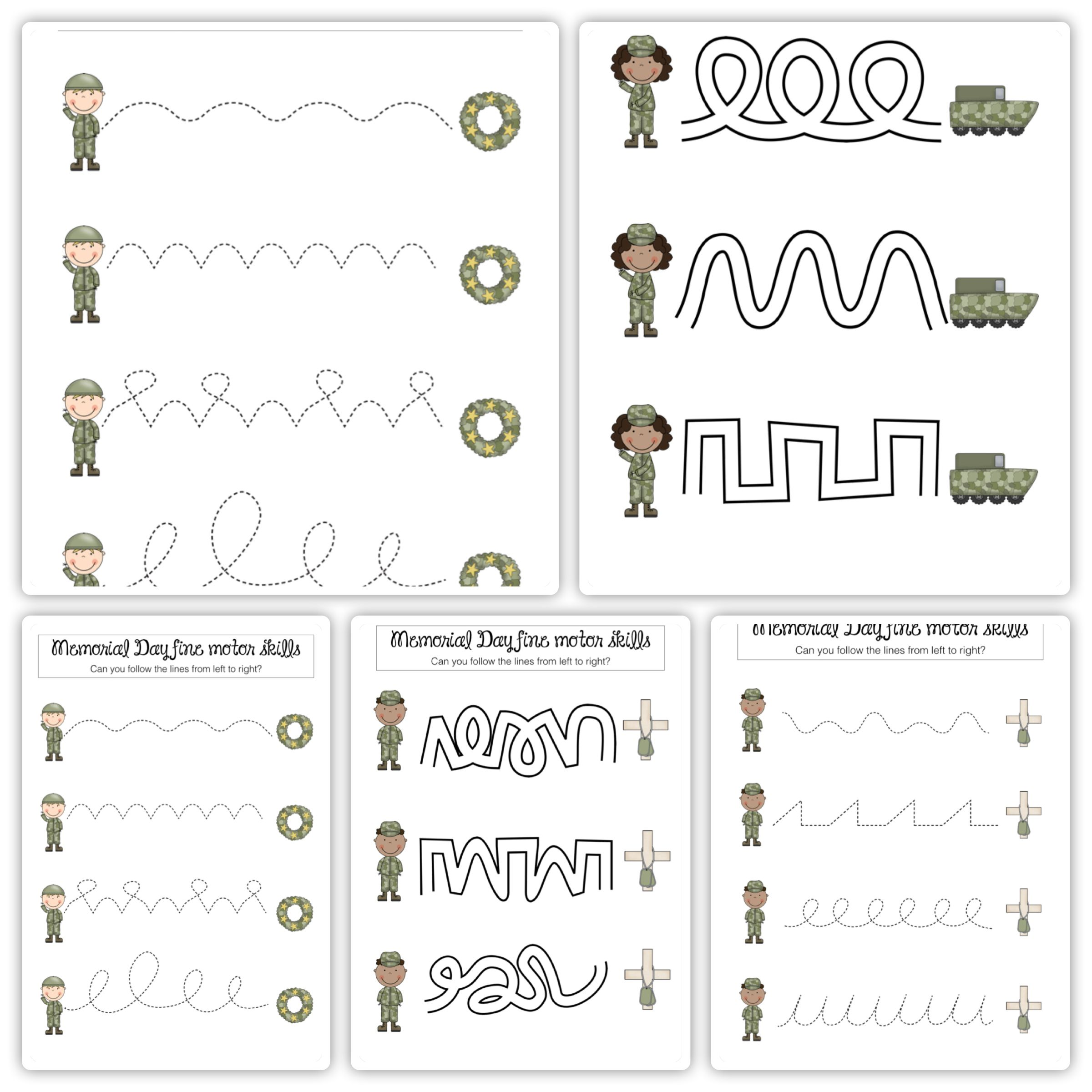 Worksheet Fine Motor Skills Worksheets Worksheet Fun