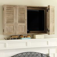 Shutter TV Wall Cabinet | For the Home | Pinterest | Tv ...