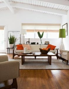 Simple  clean soft white walls and modern furniture make up the backbone of this zen inspired living room low lying with lines creates  also better homes gardens google if you  love to lounge in rh pinterest