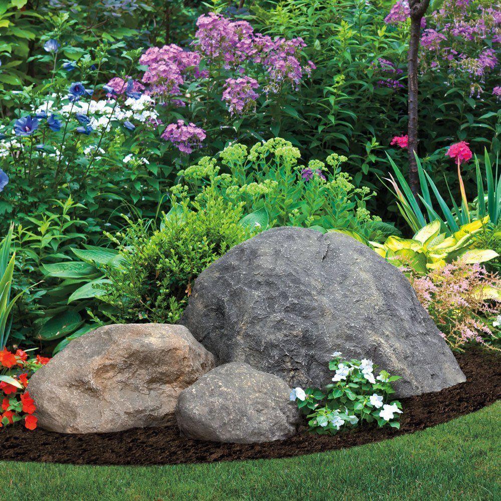 Medium Sized Rocks Landscaping