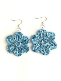 Flower Crochet Earrings | Crochet earrings, Local artists ...