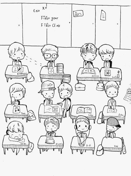 Kpop Doodle