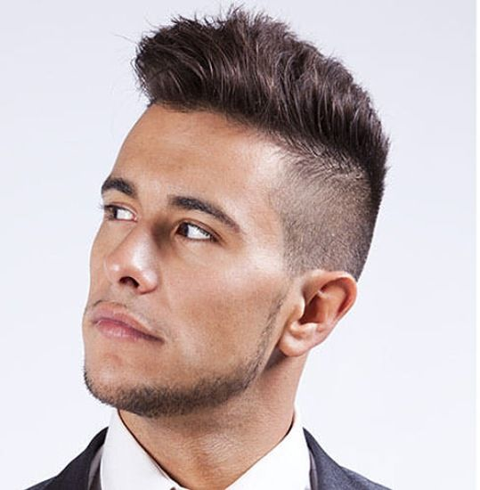 Side Shaved Spike Top 9 Shaved Sides Hairstyles For Men AJ