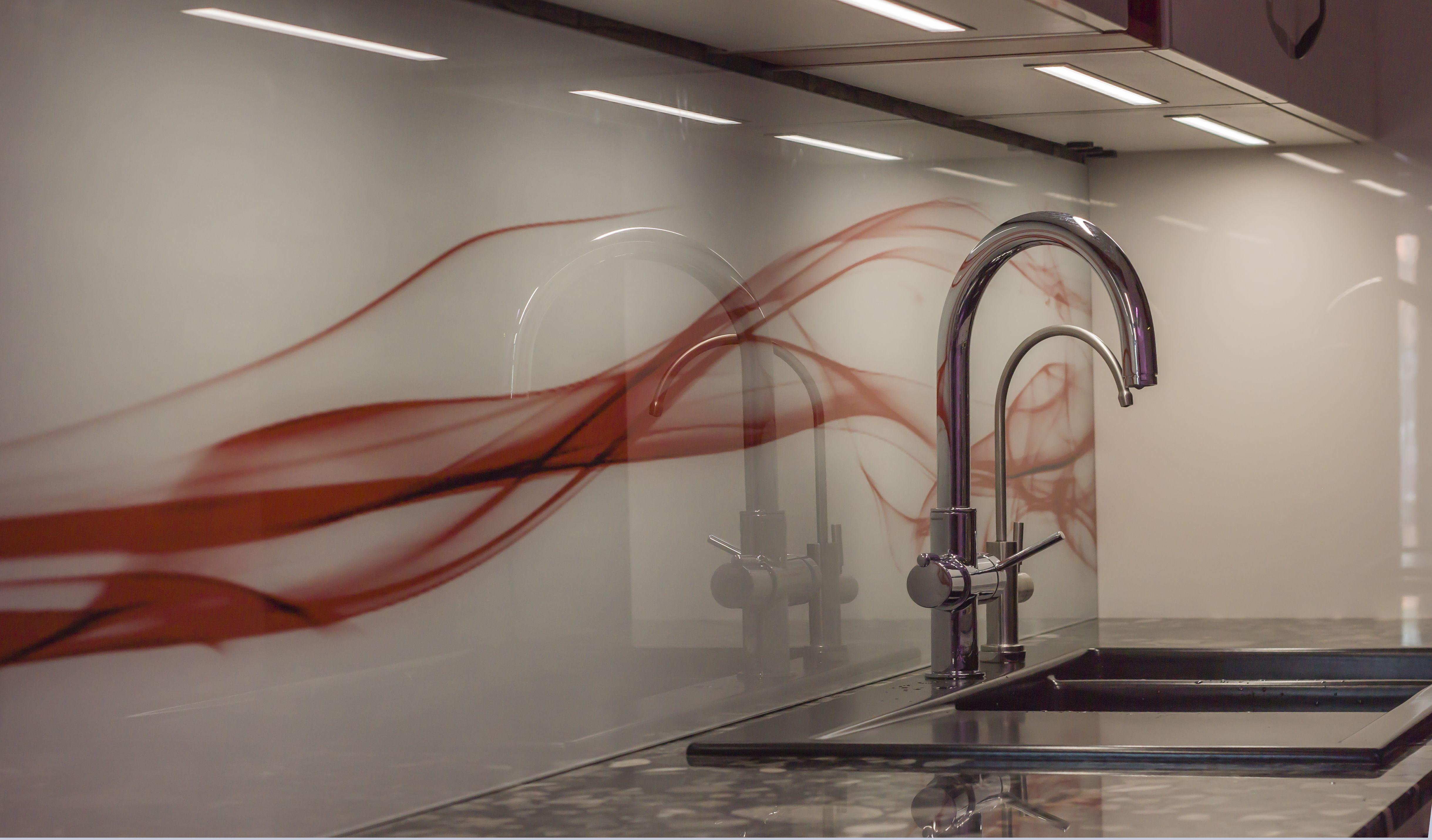 Kuechenrueckwand Glas Motiv