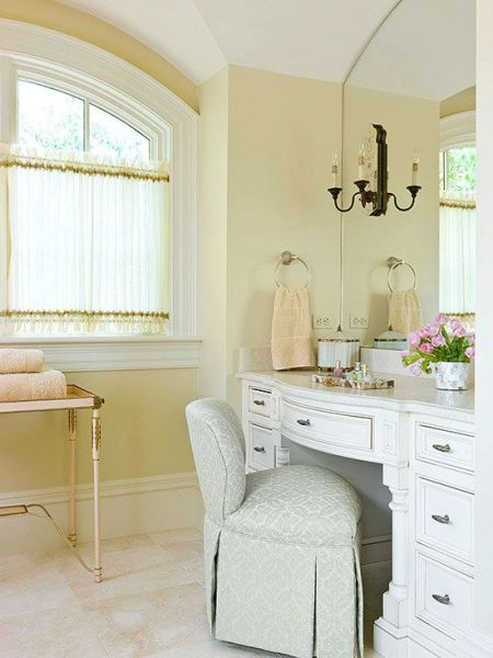 soft yellow bathroom ideas White Bathroom Design Ideas | Yellow bathrooms, Vanities and Bath