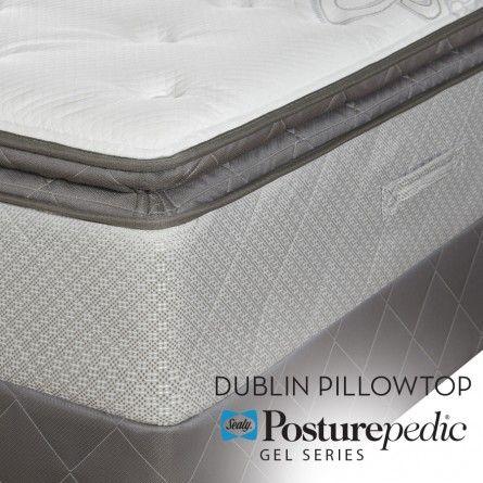 Sealy Posturepedic Gel Series Dublin Pillowtop Mattress Gallery Furniture Houston Tx Full